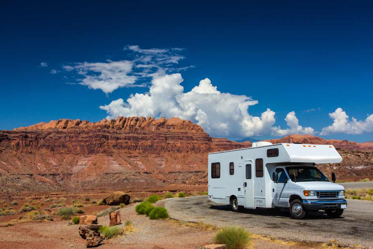 Parked RV after loan approval